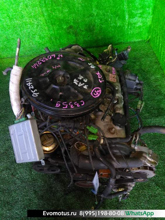 двигатель на 3A-LU TOYOTA  CORONA AT150 (Тойота Корона)
