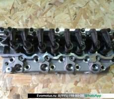 Головка блока цилиндров на Mitsubishi Strada K74T 4D56
