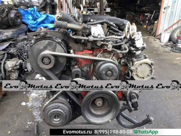 Двигатель W04CT на HINO (хино)