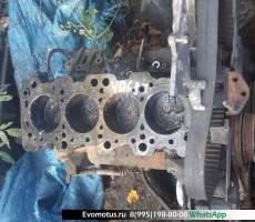 блок двигателя 4D68T на MITSUBISHI RVR (Мицубиси Рвр )