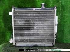 радиатор основной  на HR12DE NISSAN  MARCH K13 (Ниссан Марч)