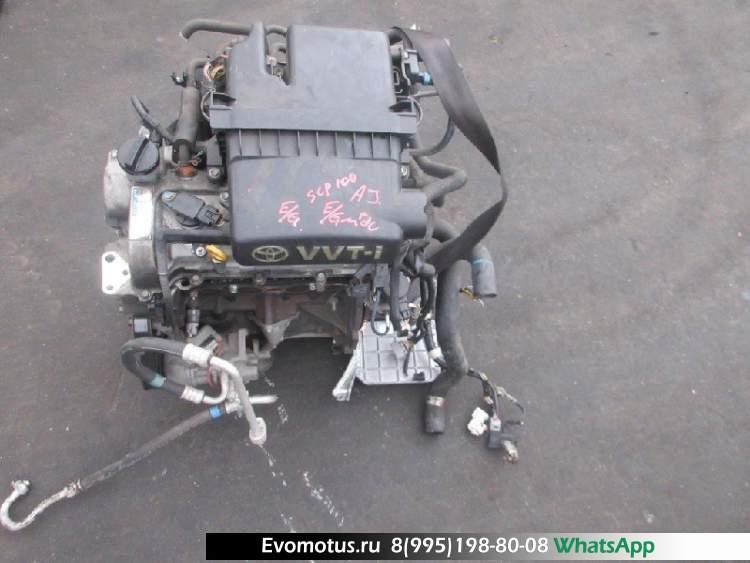 двигатель 2SZ на TOYOTA RACTIS SCP100 (тойота рактис)