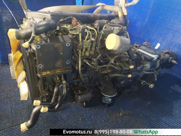 двигатель 4HL1 на ISUZU ELF NKS81E (исузу эльф)