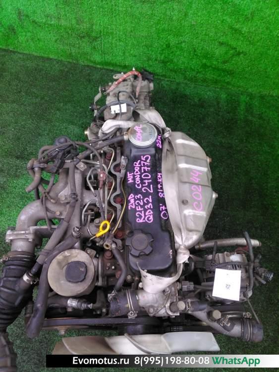 двигатель  QD32 на NISSAN ATLAS F23 (Ниссан Атлас)