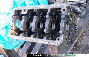 блок двигателя 4D36 на MITSUBISHI CANTER (Мицубиси Кантер )