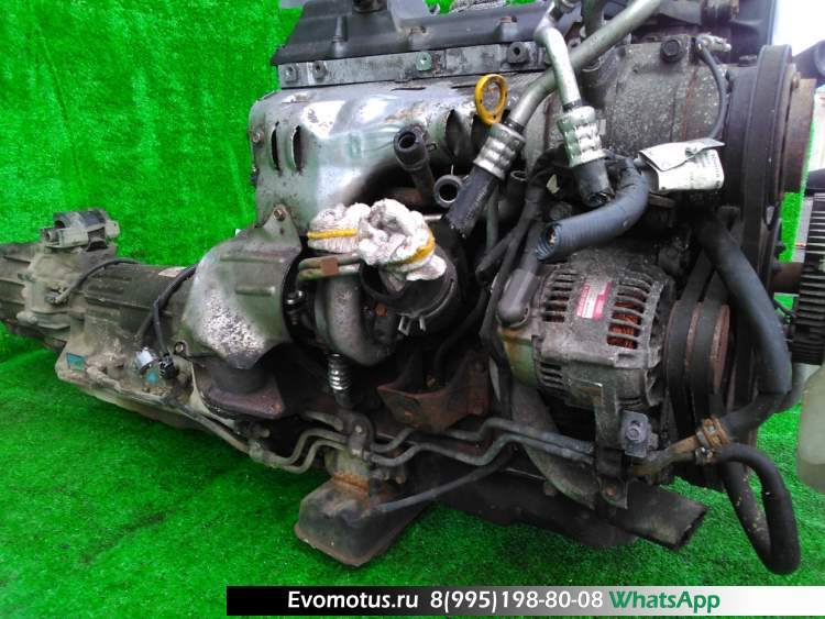 двигатель на 1KZ-TE TOYOTA  GRANVIA KCH16 (Тойота Гранвия)