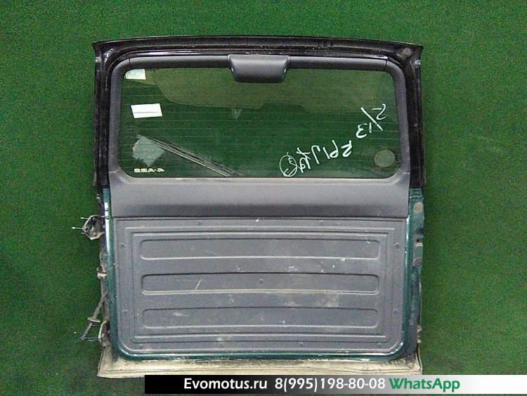 дверь пятая на 3s-fe TOYOTA RAV4 sxa15 (Тойота Рав 4) зеленый задняя