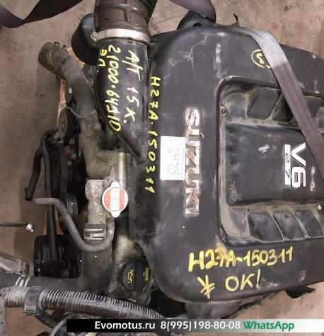 Двигатель H27A на SUZUKI GRAND VITARA XL-7 Ja627w (сузуки гранд витара)