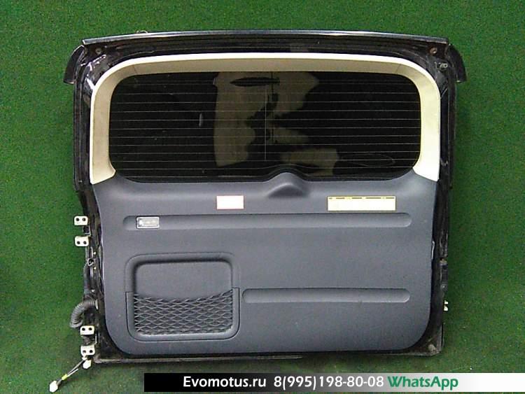 дверь пятая на 2az-fe TOYOTA VANGUARD aca33 (Тойота Вэнгард ) черный задняя