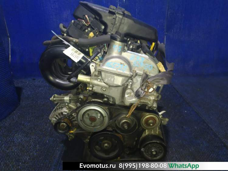 двигатель 2SZFE на TOYOTA VITZ SCP90 (тойота витс)