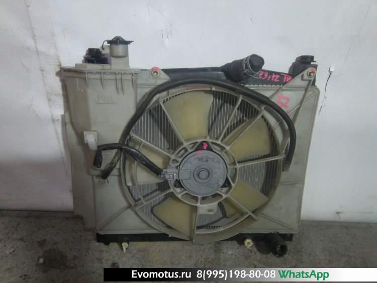 Радиатор двигателя  1NZ-FE TOYOTA SIENTA NCP81  (Тойота Сиента)