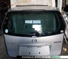 Дверь 5-я Mazda Premacy CP8W  серебристый 22V