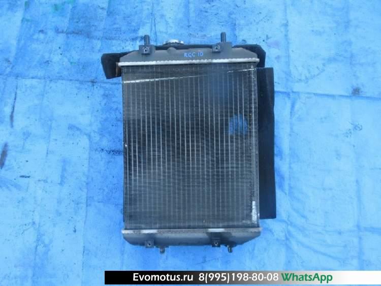 Радиатор двигателя  1KR TOYOTA PASSO KGC10  (Тойота Пассо)