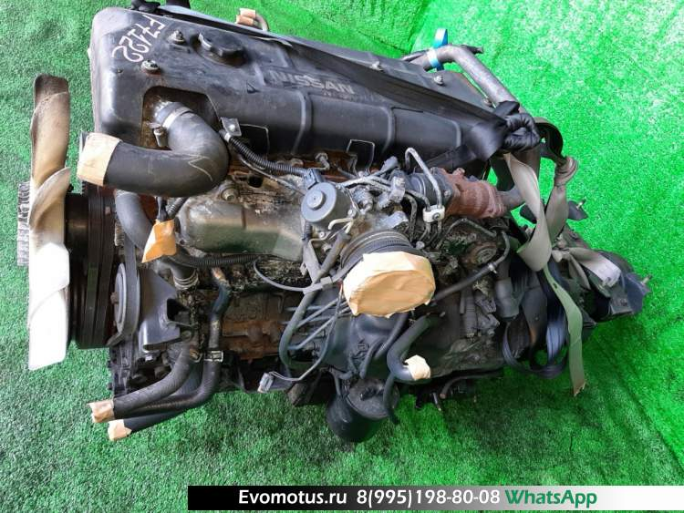 двигатель 4HG1 на ISUZU ELF BPR71L (исузу эльф)