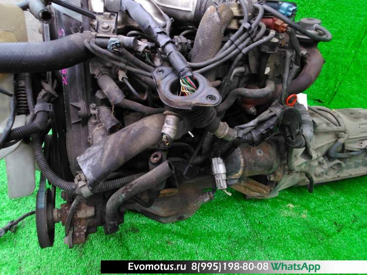 двигатель на 2L-THE TOYOTA  CROWN LS141 (Тойота Краун)