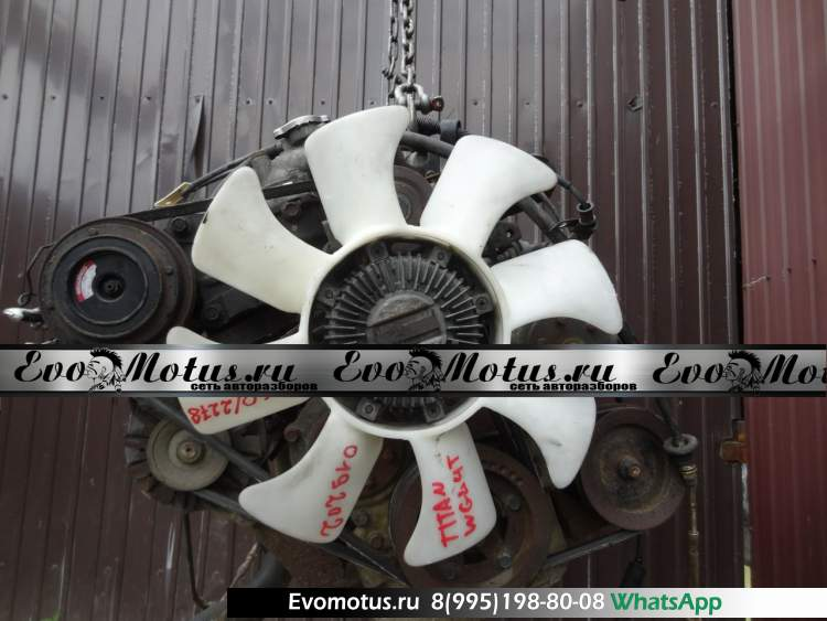 двигатель SL MAZDA TITAN WGL4T (мазда титан) мех тнвд