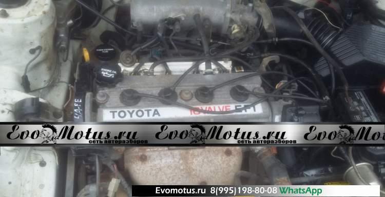 двигатель 4A-FE на TOYOTA CORONA AT175 (тойота корона)
