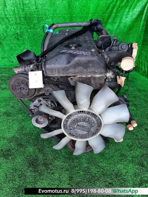 двигатель 4HG1 на ISUZU ELF NKR66E (исузу эльф)