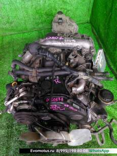 Двигатель 1KZ-TE TOYOTA HIACE REGIUS KCH46 (Тойота Хайс Региус)