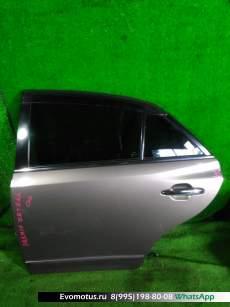 дверь на  TOYOTA PREMIO ZRT261;ZRT265;ZRT260;NZT260 (Тойота Премио) КОРИЧНЕВЫЙ задняялевый