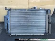 Радиатор двигателя  1NZFXE TOYOTA AQUA NHP10  (Тойота Аква)