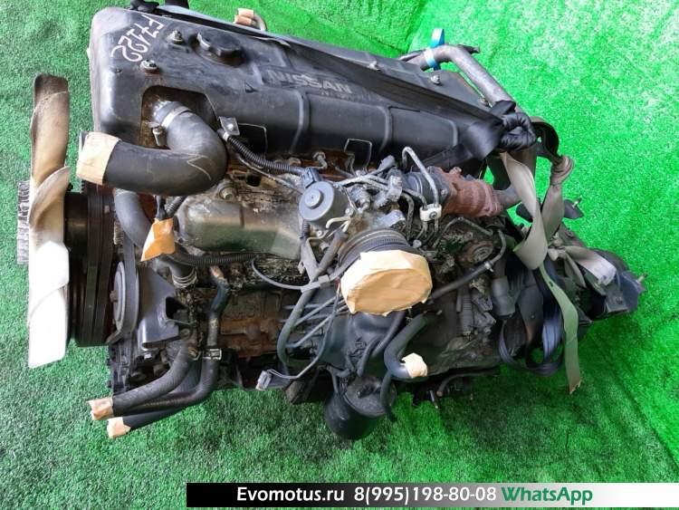 двигатель 4HG1 на ISUZU ELF NKR71 (исузу эльф)