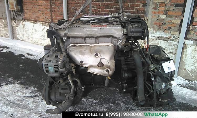 двигатель 5A на TOYOTA CORONA AT170 (тойота корона)