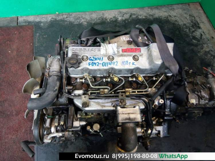 двигатель двс FD42 NISSAN ATLAS (ниссан атлас)