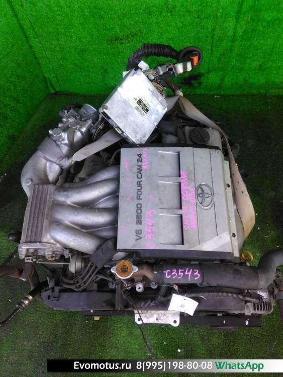 двигатель на 2MZ-FE TOYOTA  MARK II QUALIS MCV21 (Тойота Марк 2 QUALIS)