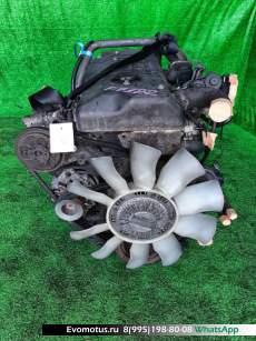 двигатель 4HG1 на ISUZU ELF NKS71E (исузу эльф)