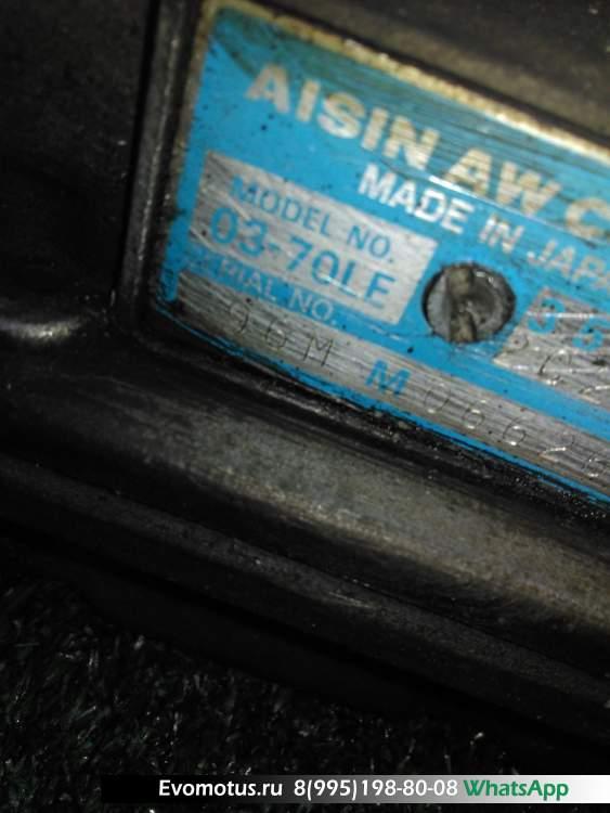 акпп 0370LE, A42DEA03A  на 1G-FE TOYOTA  CHASER GX100 (Тойота Чайзер)