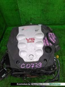 двигатель  VQ35DE на NISSAN SKYLINE CPV35 (Ниссан Скайлайн)