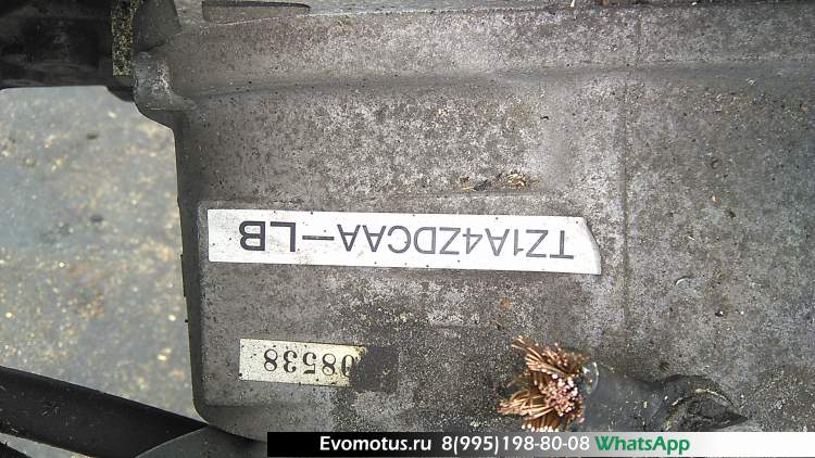 АКПП TZ1A4ZDCAA на EJ20 SUBARU LEGACY BE5, BH5 (субару легаси)