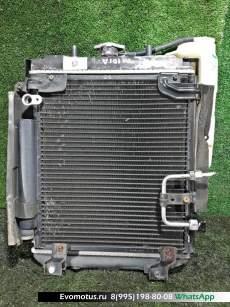 Радиатор двигателя  K3-VE TOYOTA DUET M101A  (Тойота Дуэт)