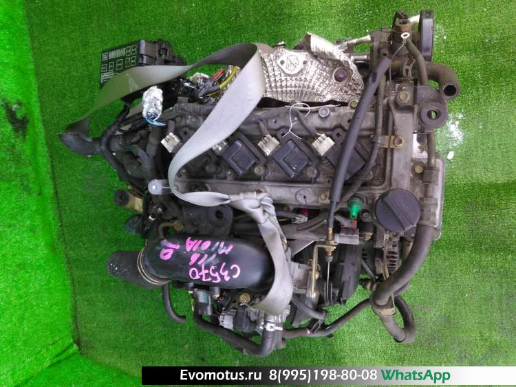 двигатель на K3-VE TOYOTA  DUET M101A (Тойота  DUET)