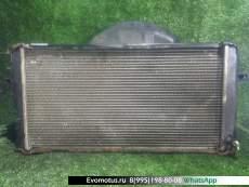 Радиатор двигателя  7K-E TOYOTA TOWNACE KM80  (Тойота Таунайс )