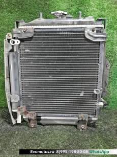 Радиатор двигателя  EJ-DE TOYOTA DUET M100A  (Тойота Дуэт)