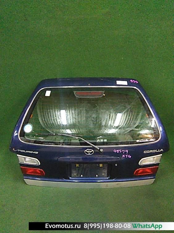 дверь пятая на 5a-fe TOYOTA COROLLA ae100 (Тойота Королла) синий задняя